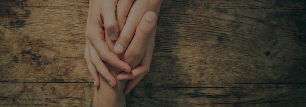 Zwei Helfende Hände